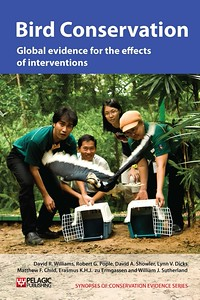 Bird Conservation Evidence book cover